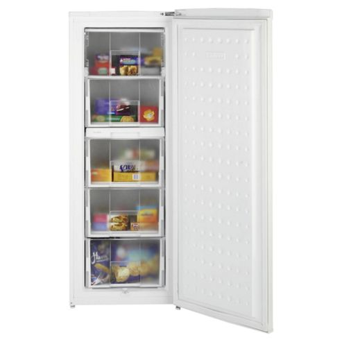 Beko TZDA503 Static Tall Freezer, Freezer Capacity: 175 Litres, Energy Rating A, Width 54.4cm. White