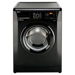 Beko WMB71231B Washing Machine, 7kg Wash Load, 1200 RPM Spin, A+ Energy Rating. Black