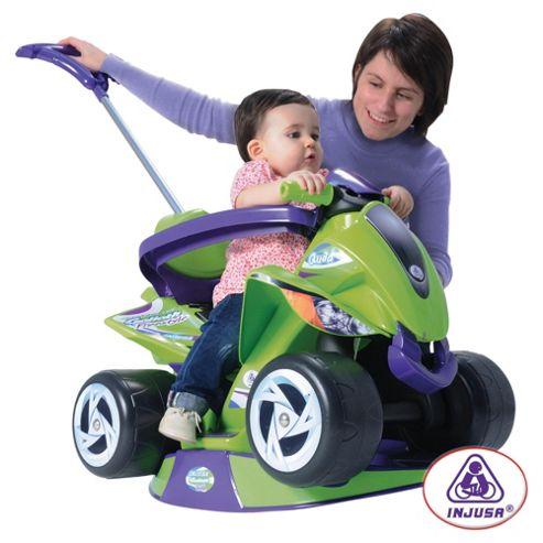 Goliath 6-In-1 Quad Ride-On, Green/Purple