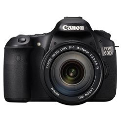Canon EOS 60D Digital SLR Camera (Inc EF-S 18-135 mm f/3.5-5.6 IS Lens Kit)
