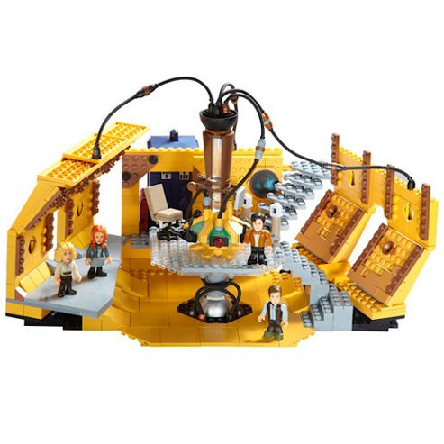 Character Building Doctor Who - Tardis Console Room Mega Set