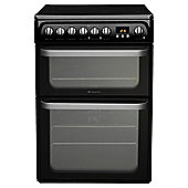 Hotpoint HUE61K Black Electric Cooker