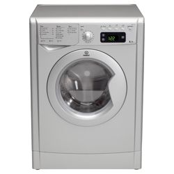 Indesit IWE81281 1200RPM Washing Machine, Silver