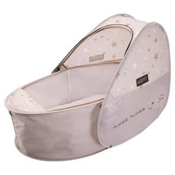 Koo-di Pop Up Travel Cot & Bassinette, Sun & Sleep