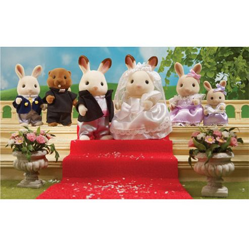 Sylvanian Families Wedding Celebration Set