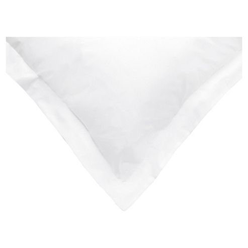 Tesco Oxford Pillowcases Set of 4 White