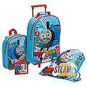 Thomas & Friends 4-Piece Kids' Luggage Set