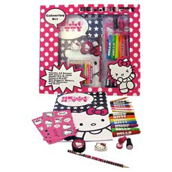 Hello Kitty Colouring Set
