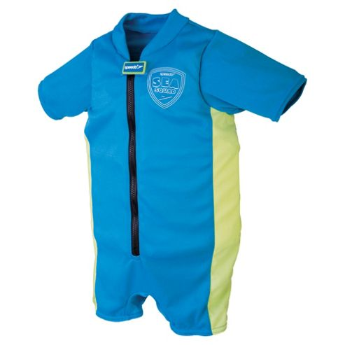 Speedo Sea Squad Floatsuit, 2-3 years, Blue