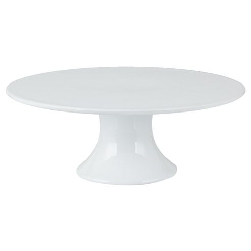Tesco Porcelain Cake Stand, White
