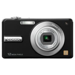 Panasonic F3 Digital Camera - Black(12.1MP, 4x Optical Zoom) 2.7 inch LCD