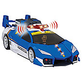 Tomica Hcr Police Launcher Set