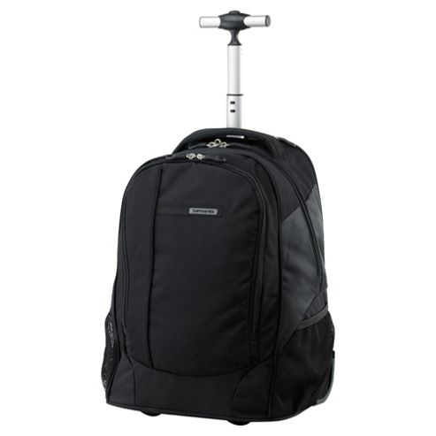 Samsonite Wander-Full 2-Wheel Laptop Backpack, Black