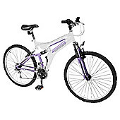 "Silverfox Crave 26"" Dual Suspension Adult Mountain Bike - Ladies"