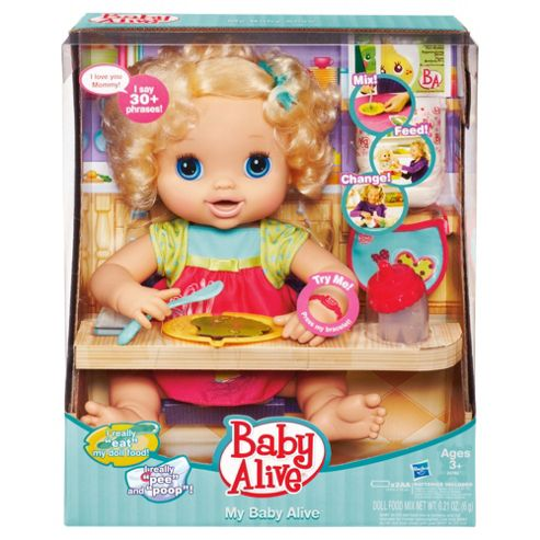 Baby Alive As Real As Can Be Doll