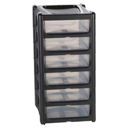 6 drawer slimline tower