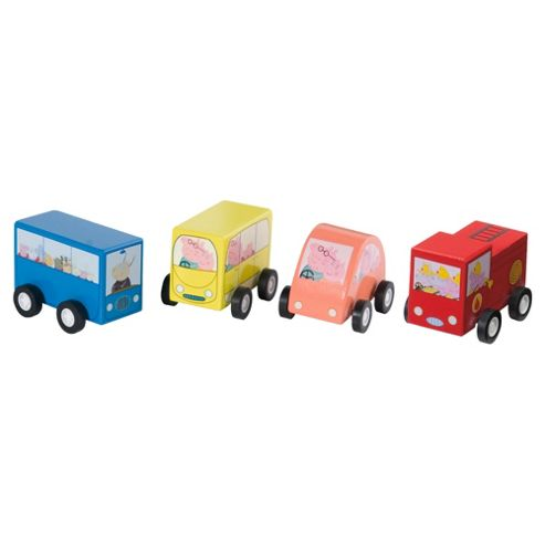 Peppa Pig Pullback Vehicles- Assortment – Colours & Styles May Vary