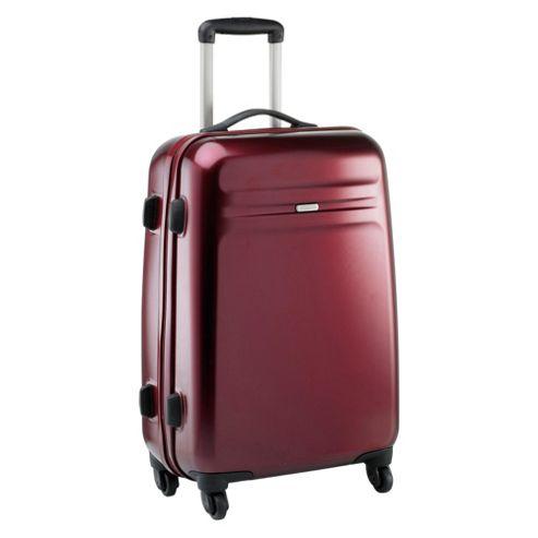 American Tourister by Samsonite Thunderlite 4-Wheel Hard Shell Suitcase, Red 66cm