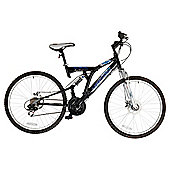 "Vertigo Eiger 24"" Dual Suspension Kids' Mountain Bike - Boys"