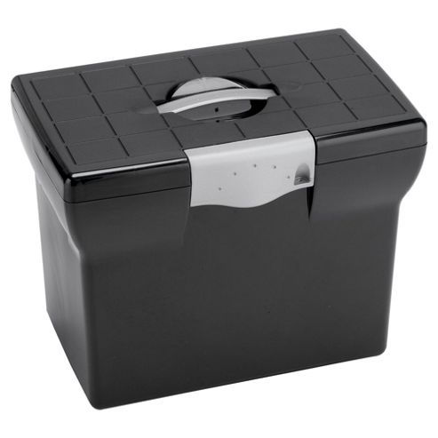 Pierre Henry Freestyle A4 Box File, Black