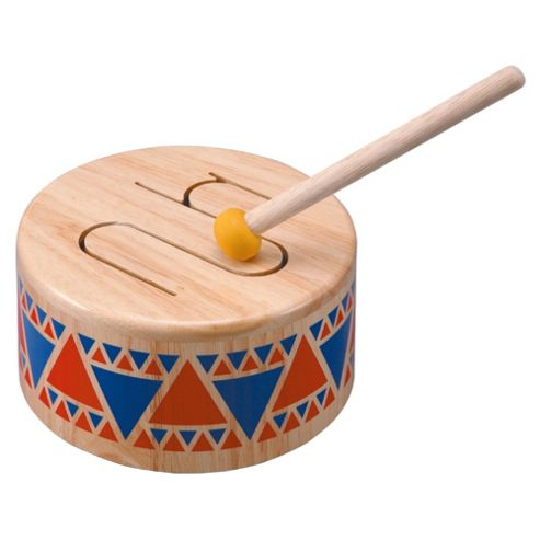 Plan Toys Solid Drum Wooden Toy