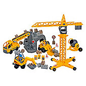 Ecoiffier Pretend Play Abrick Construction Site Playset