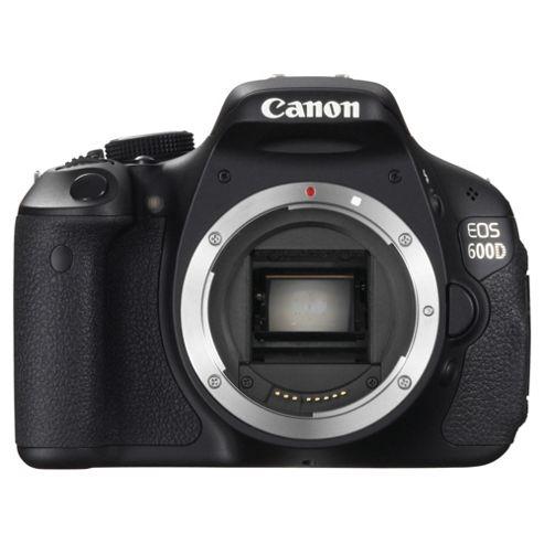 Canon EOS 600D Digital SLR Camera (Body Only)