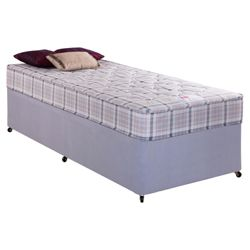 Airsprung Melbourne Tufted Single Non Storage Divan Bed