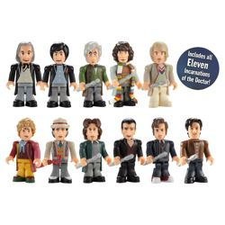 Character Building Doctor Who 11th Doctors Collector Pack