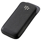 BlackBerry® Pearl Leather Pocket Blackberry 9100/9105 Black