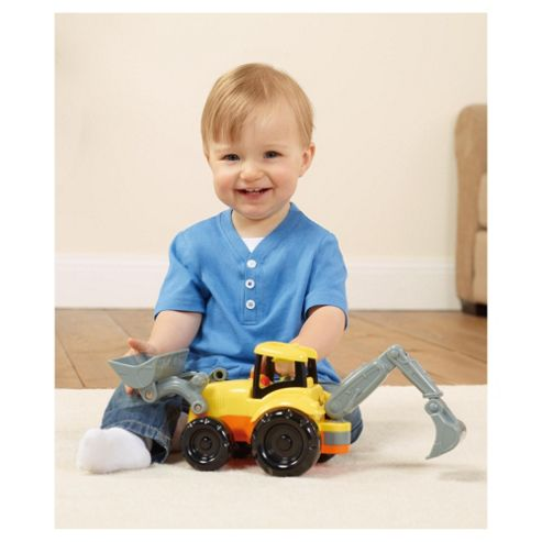 Carousel Toy Yellow Digger