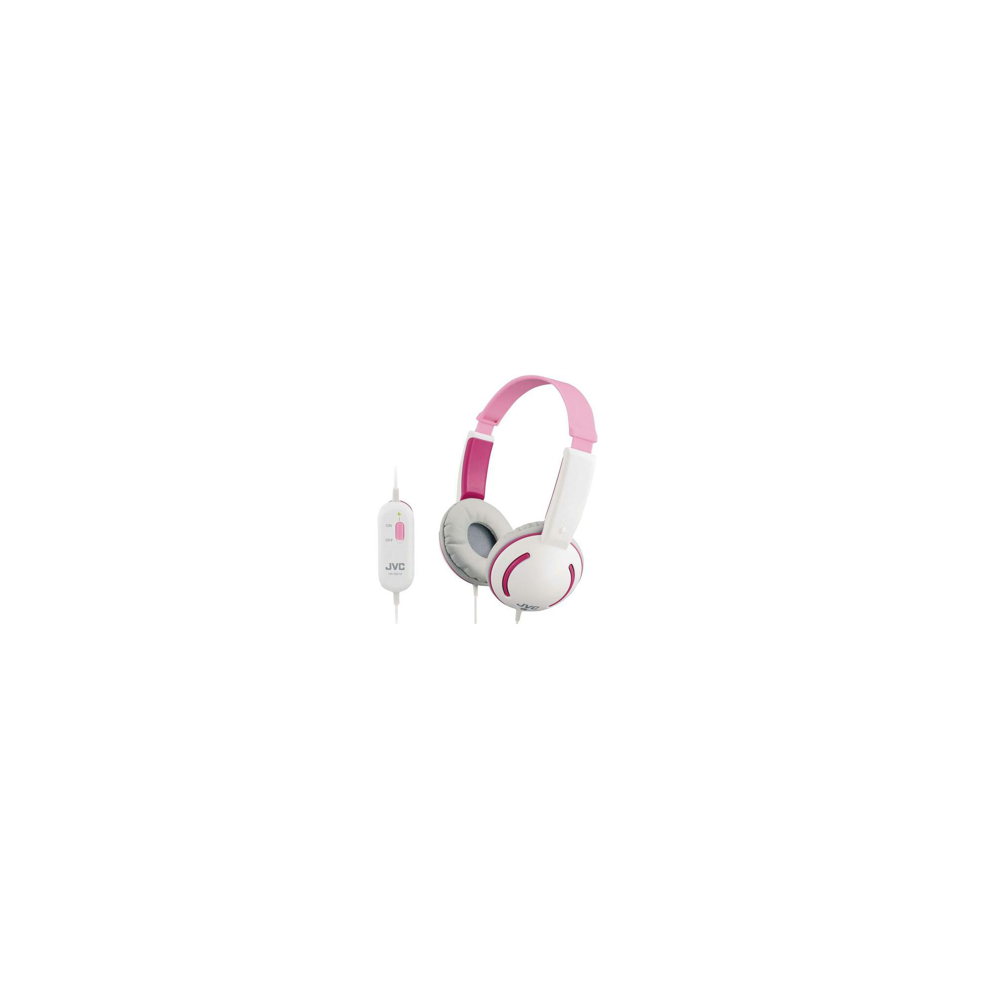 JVC HAKD10P Tiny Headphones for Kids - Pink