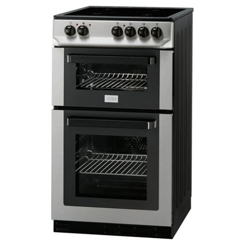 Zanussi ZCV561DX Stainless Steel 50cm Electric Cooker