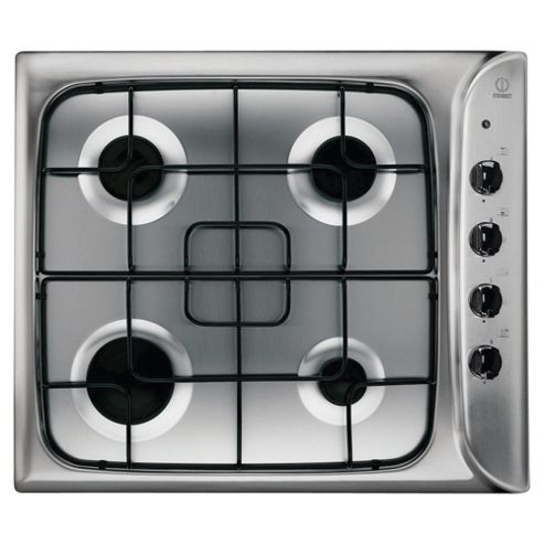 Indesit PIM 640 AS IX Stainless Steel Gas Hob