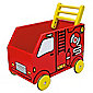 I'M Toy Walker Wagon Fire Engine, wooden toy
