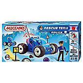 Meccano Rescue Team Police Car