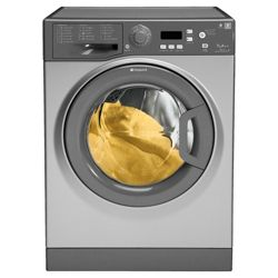 Hotpoint WMPF742G Washing Machine, 7kg Wash Load, 1400 RPM Spin, A++ Energy Rating. Graphite