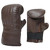 Golds Gym Heritage Leather Boxing Mitt, Large