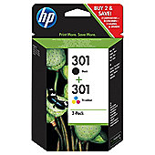 HP 301 Combo Pack Ink