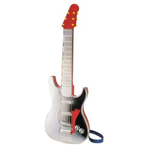 Bontempi GR5401 Rock Toy Guitar Trem Silver