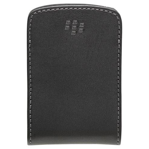 BlackBerry® Curve™ Leather Pocket BlackBerry 8520/9300 Black