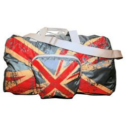 Union Jack Foldable Holdall
