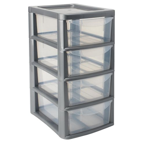 4 Drawer Small Tower