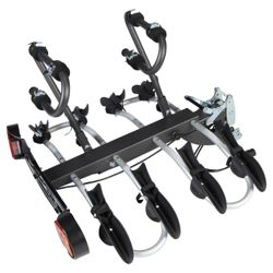 Mottez A018P4RA Folding Platform 4 Bike Carrier