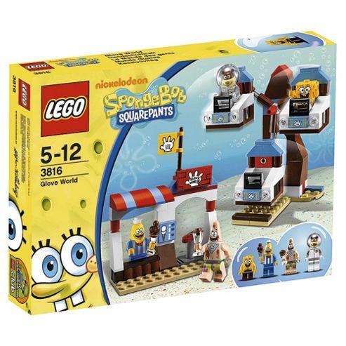 LEGO SpongeBob Square Pants Glove World 3816