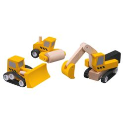 Plan Toys Road Construction Wooden Toy Set