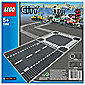 LEGO City Straight & Crossroad Plates 7280