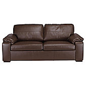 Ashmore Leather Sofa Bed, Brown
