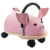Wheelybug Pig Ride-On, Small
