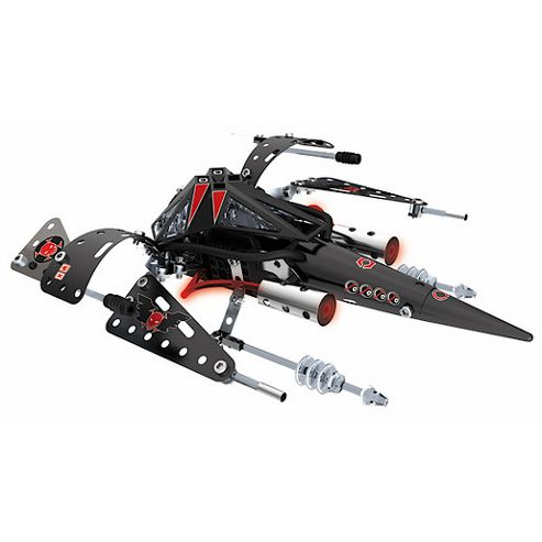 Meccano Space Chaos Dark Pirates Commander Plane